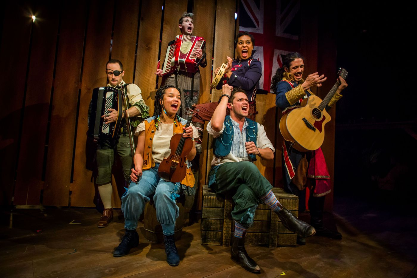 'Treasure Island' at the Arden: Gentle tribute to the power of a kid's imagination