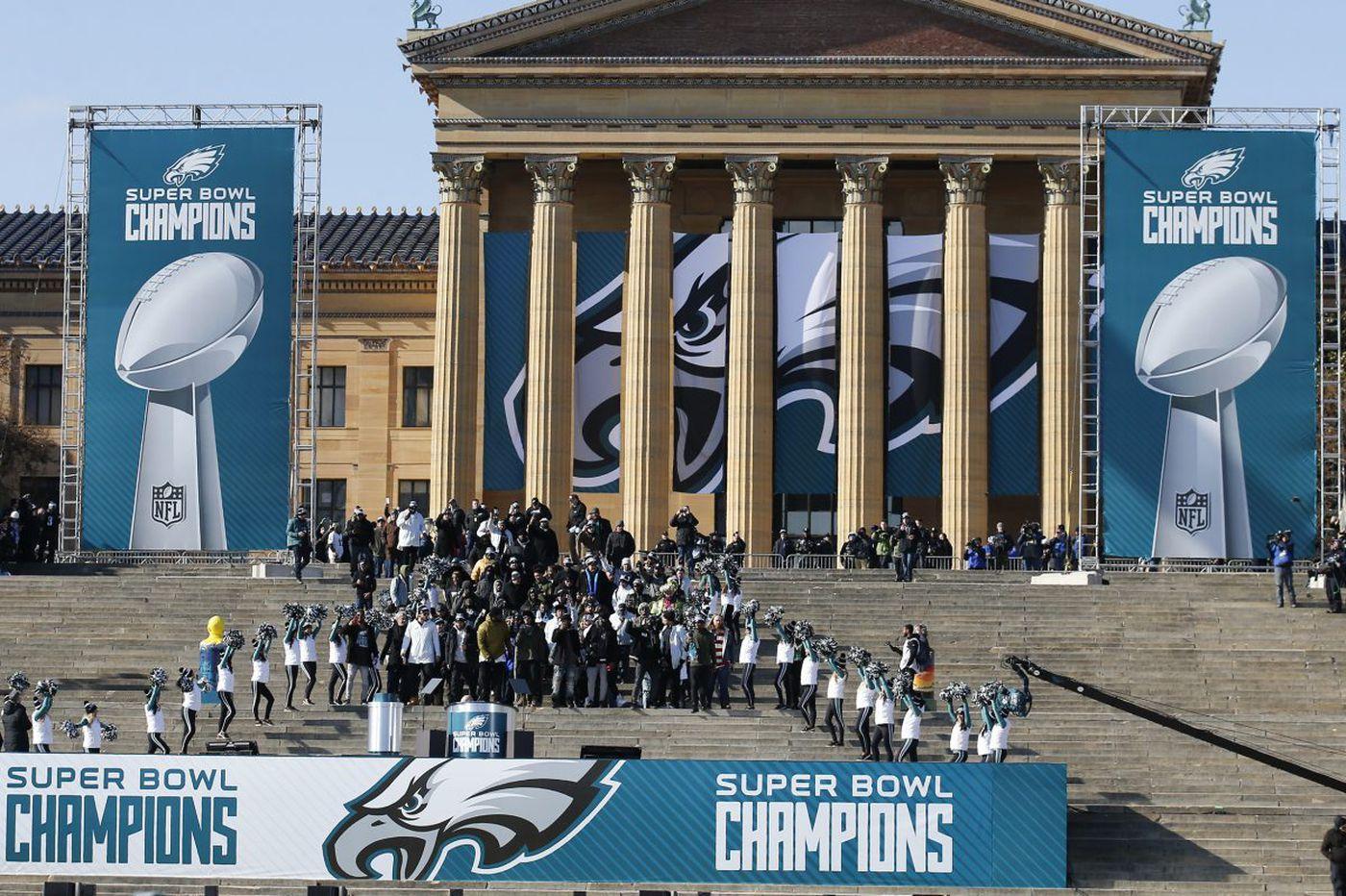 Rendell: Basking in Super Bowl glory