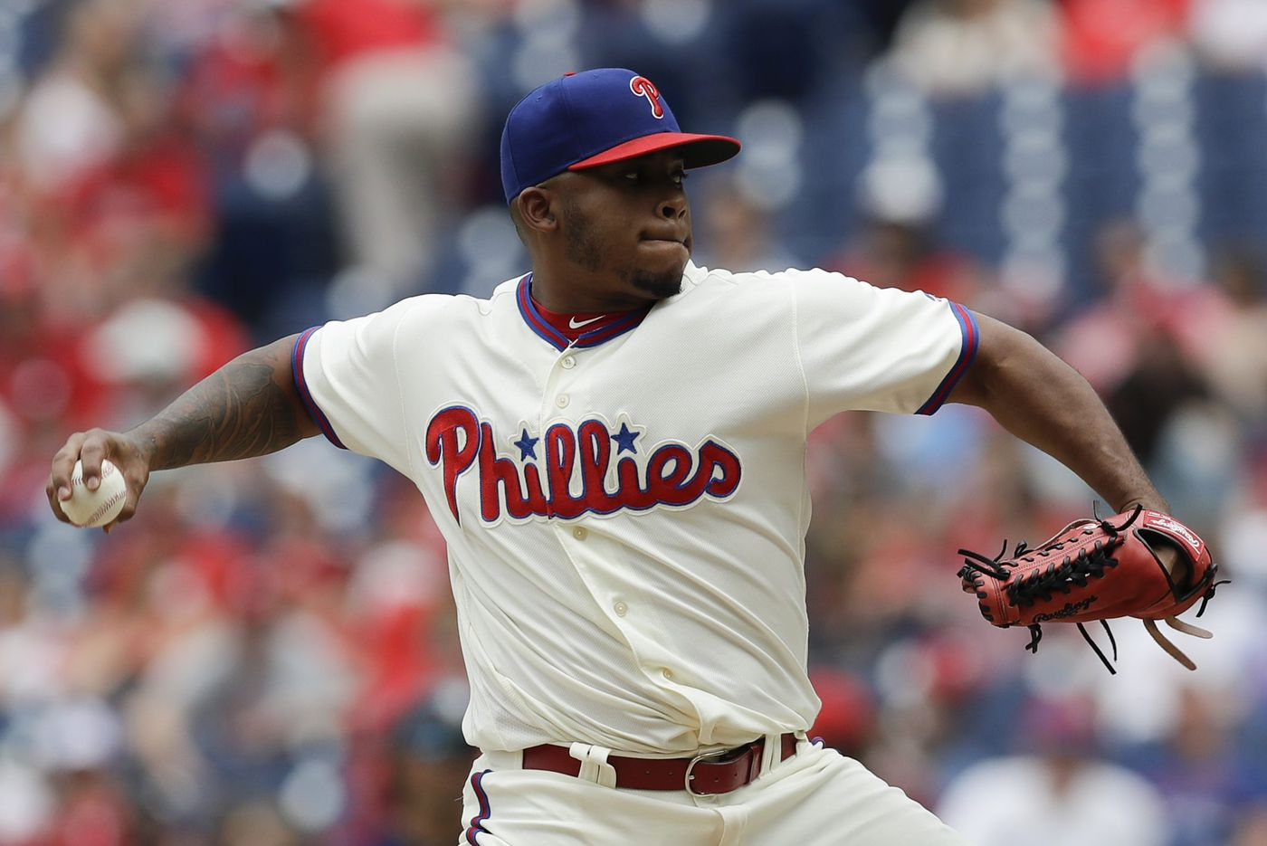 Phillies' Edubray Ramos placed on disabled list with knee injury