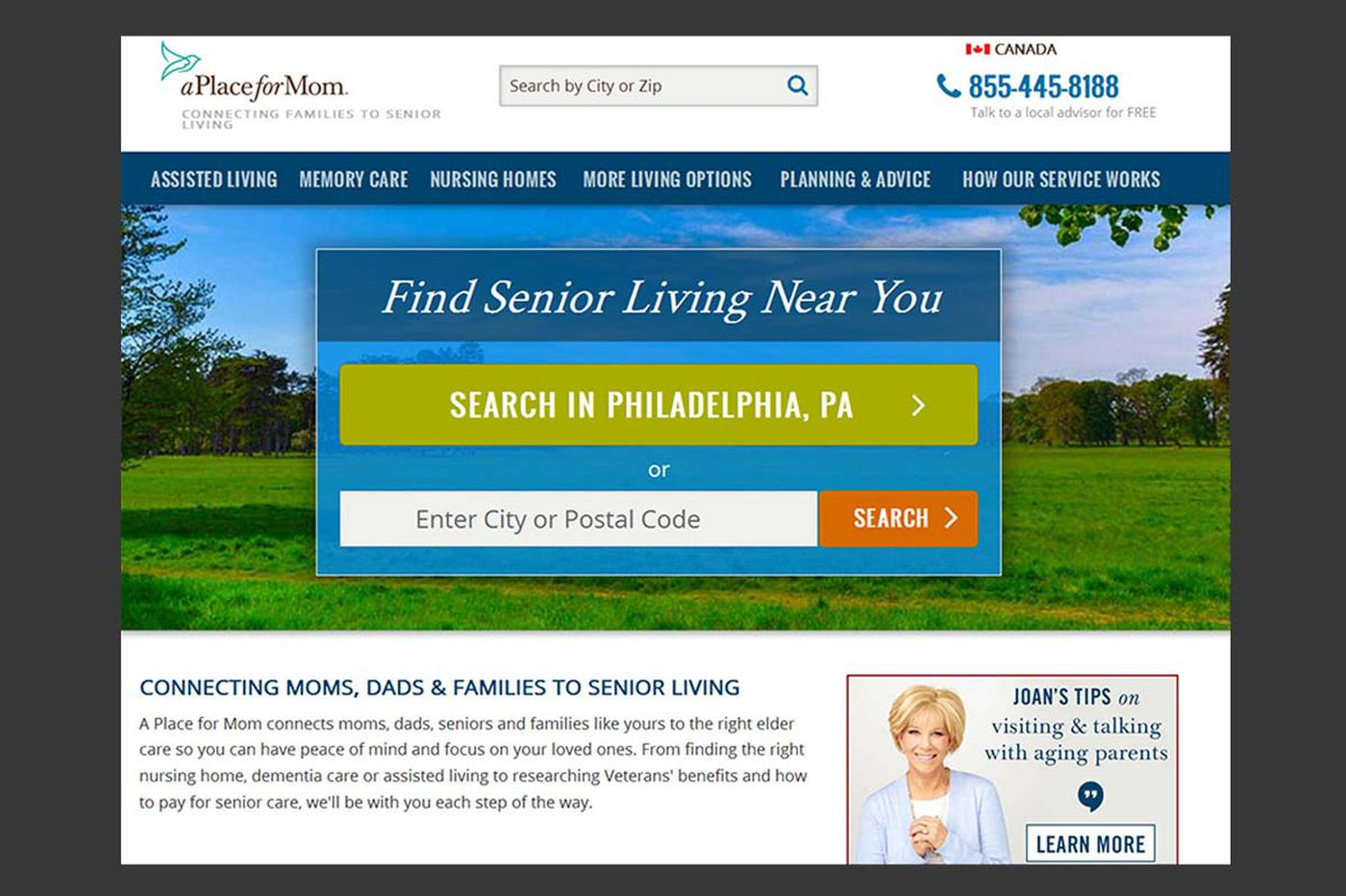 Whom to consult for help finding senior housing