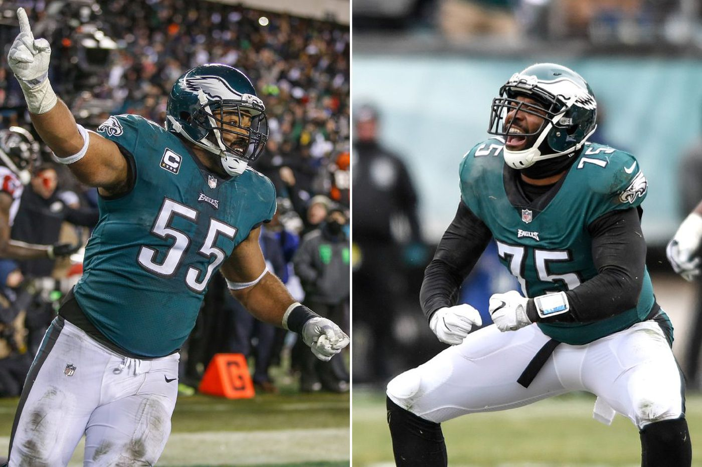 Brandon Graham and Vinny Curry took a long route but arrived at the Super Bowl | Bob Ford