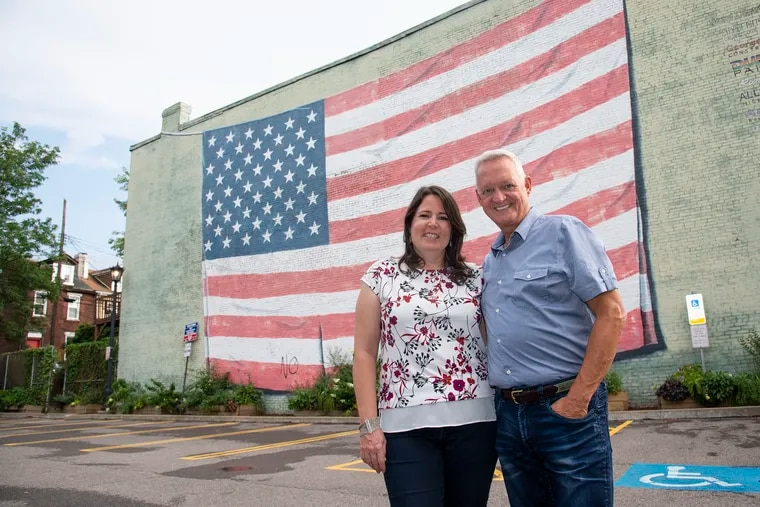 Pittsburgh resident Chuck Howenstein (right) supported President Obama in 2012, then President Trump in 2016, but now wants to see Democrats take the White House back. His wife, Jackie Howenstein, is a fierce Trump critic and didn't know Chuck had voted for him.