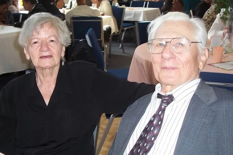 Lore Smith and George Pikunis died Tuesday night when a fire ripped through the home they shared in Browns Mills, Burlington County.