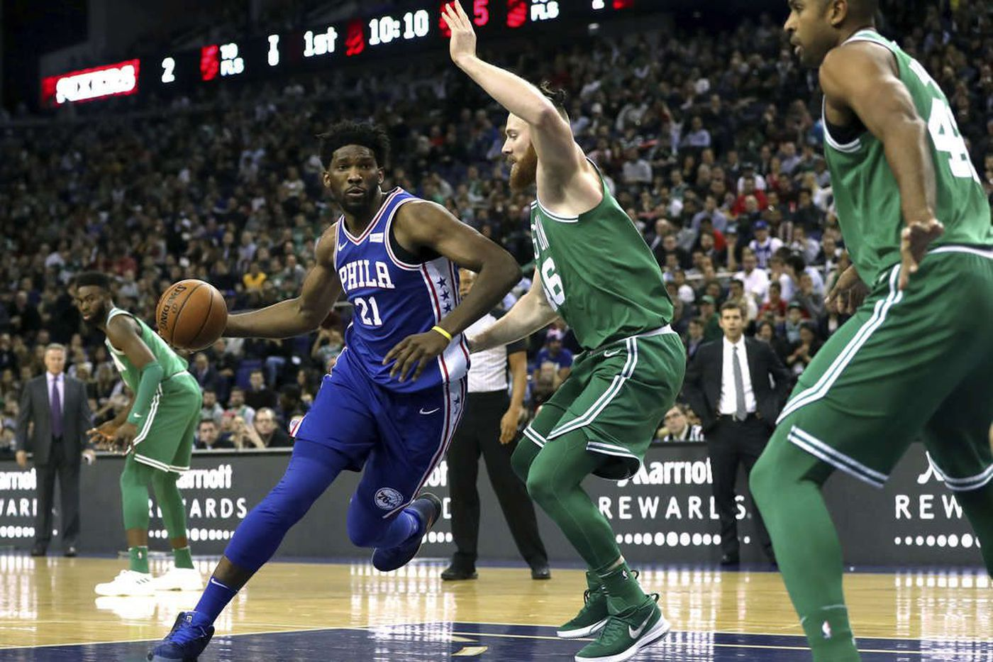 Sixers-Celtics preview: Needing to get Joel Embiid involved early