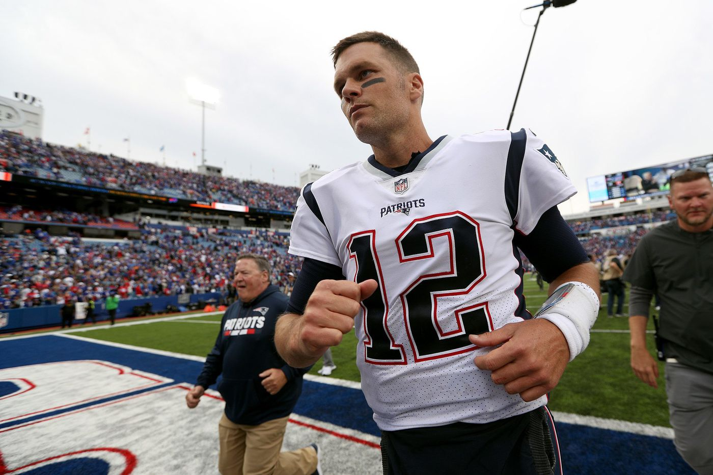 Will Sunday's game be another Jim (Schwartz) workout for Tom Brady? | Bob Ford