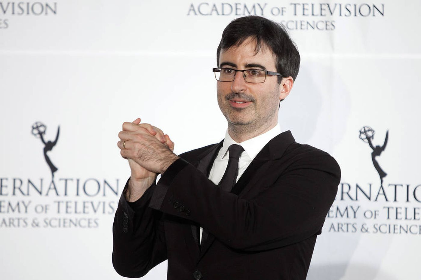 John Oliver, biting off a weekly chew