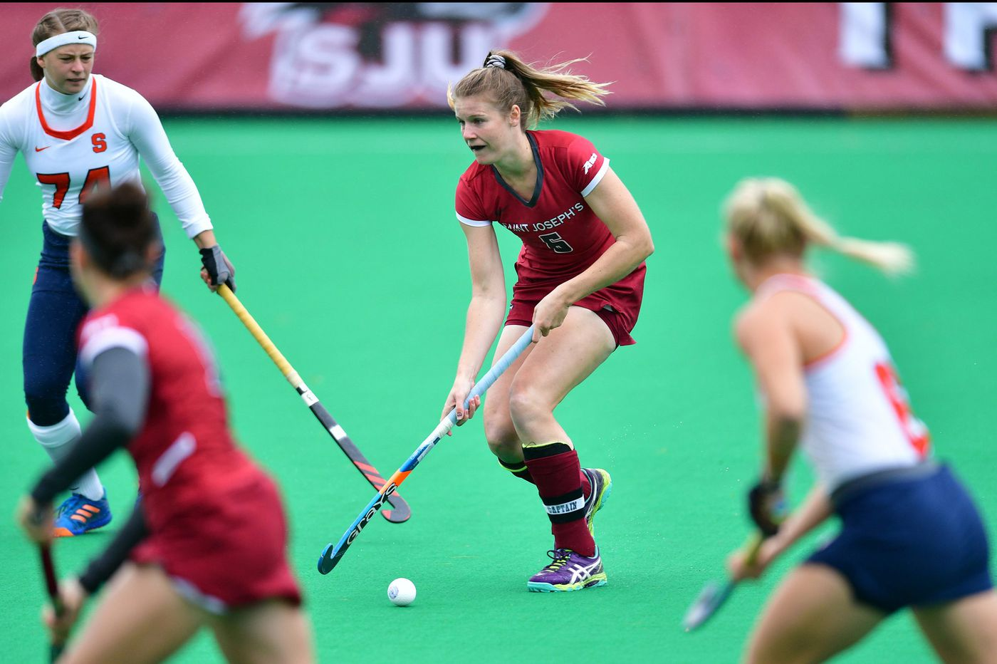 Saint Joseph's looking to take another step at Atlantic 10 field hockey championships