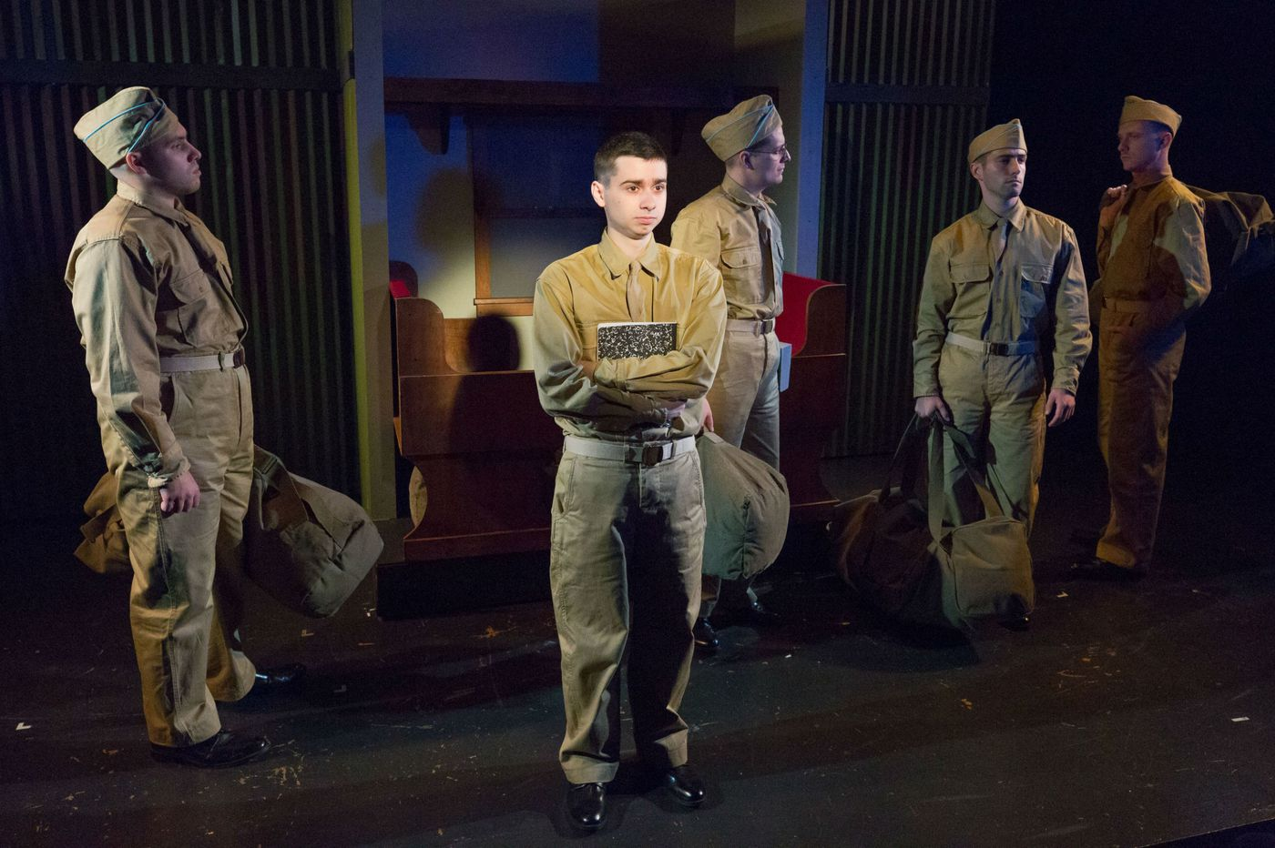 'Biloxi Blues' at Act II: Power struggle in this boy's army