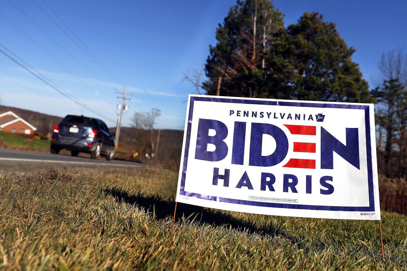The GOP warned Susquehanna County voters that Biden would ban fracking. Few believe it will happen.