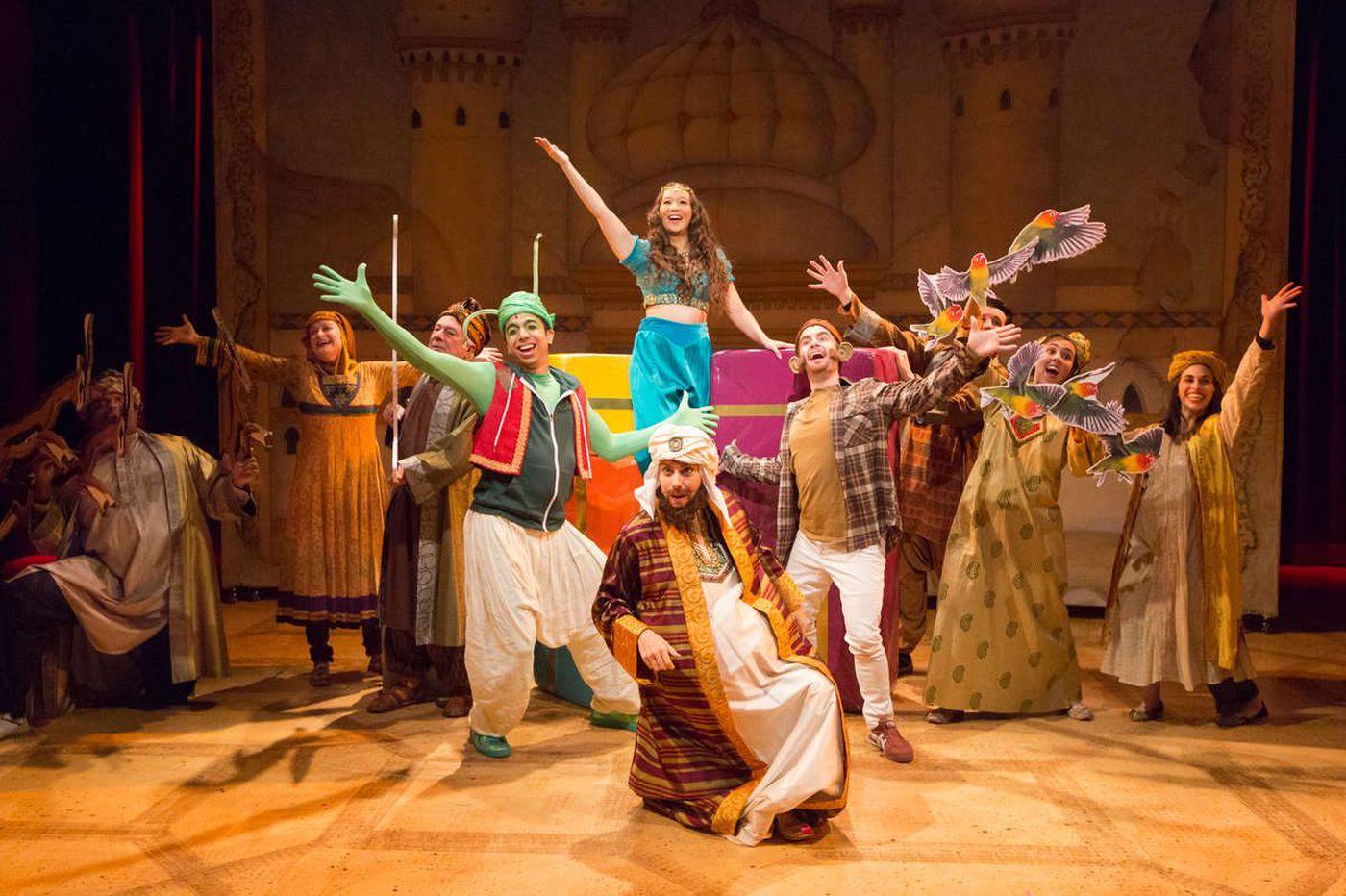 'Aladdin' at People's Light: Saving the world through silliness