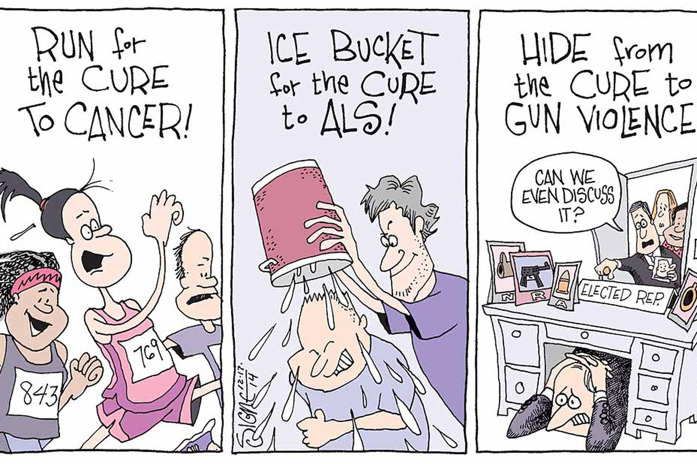 Daily Signe Cartoon 12/17/14