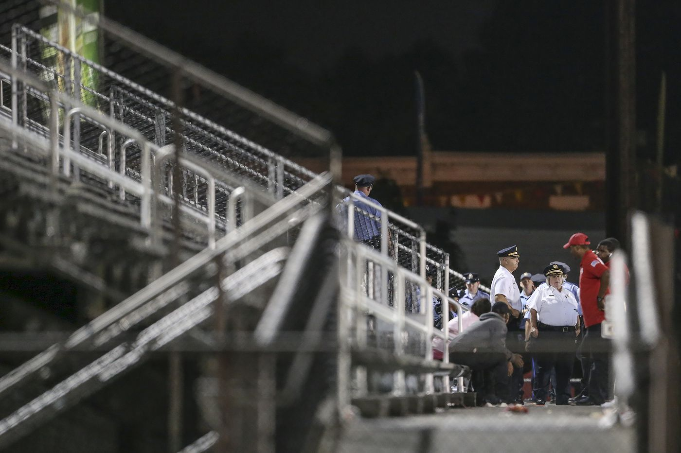 Shooting at high school football game in Philadelphia prompts security review