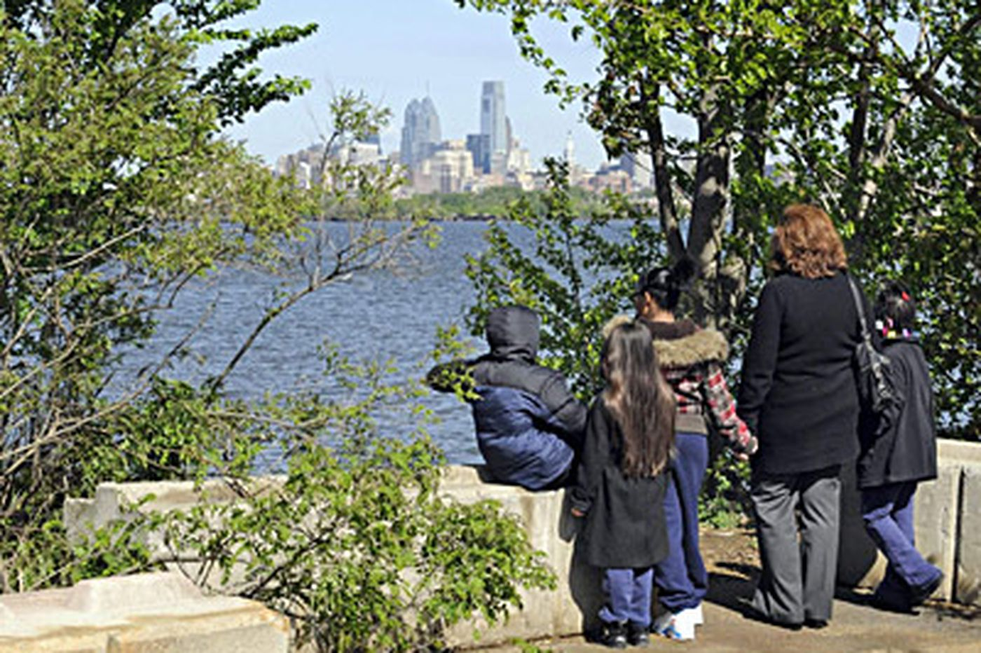 Camden's Waterfront South gets a park to call its own