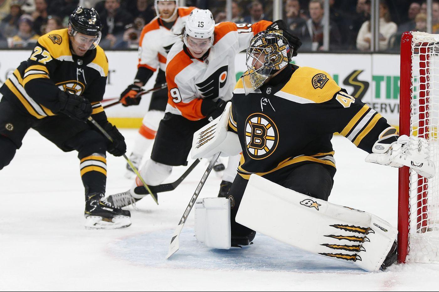 Boston Bruins vs Philadelphia Flyers