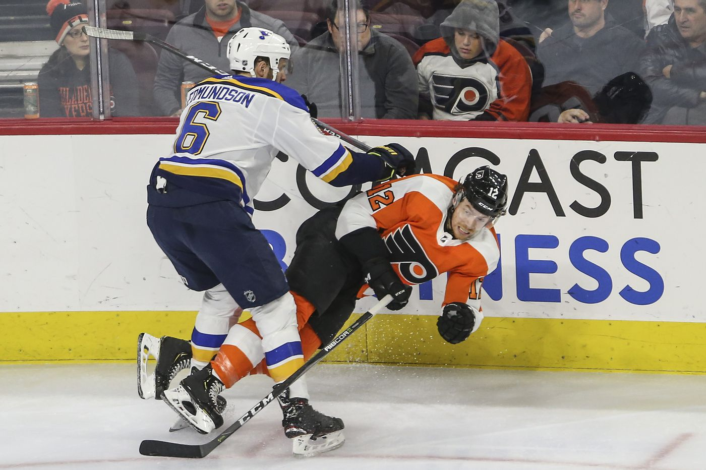Flyers-Blues observations: Time for change, but no quick fix