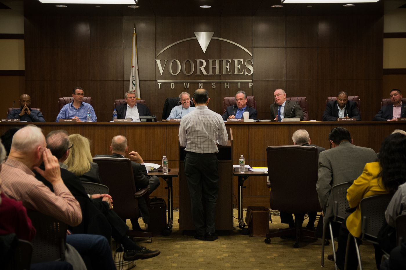 Voorhees residents weigh in on an international 'think tank' for religious peace in their backyard