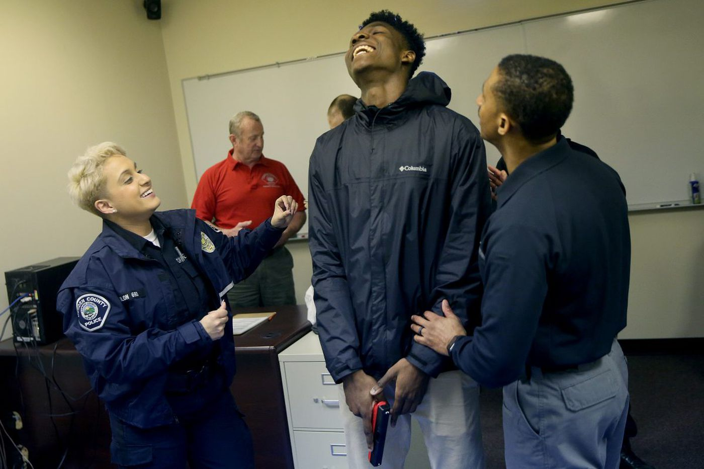 Camden youth get recruit training to break down barriers with police