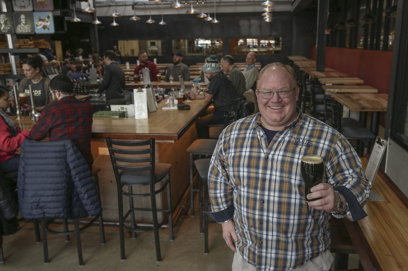 Yards brewery is better, not just bigger, with move and ambitious new taproom