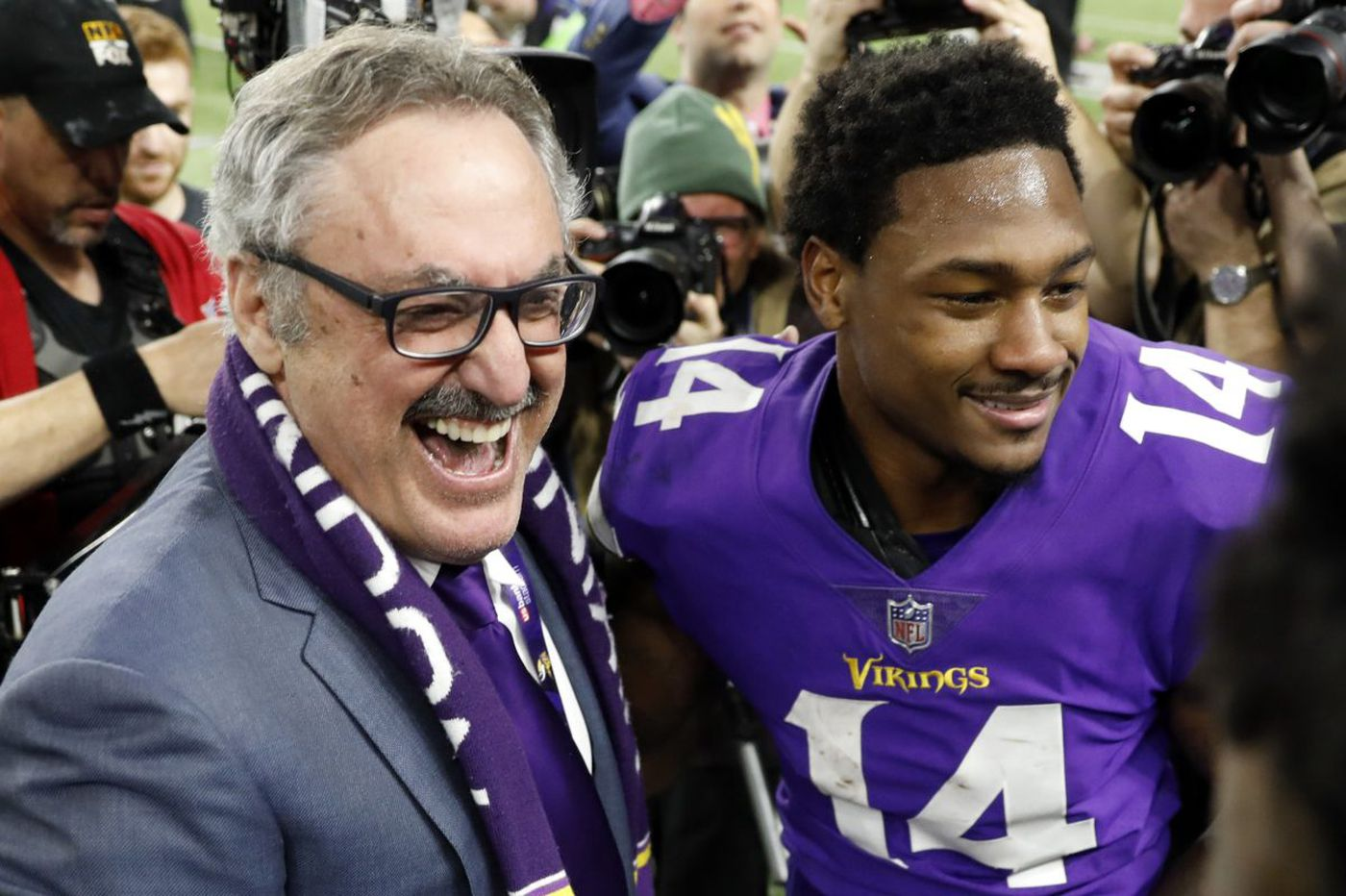 Miracle still on Vikings' minds as they start preparing for Eagles