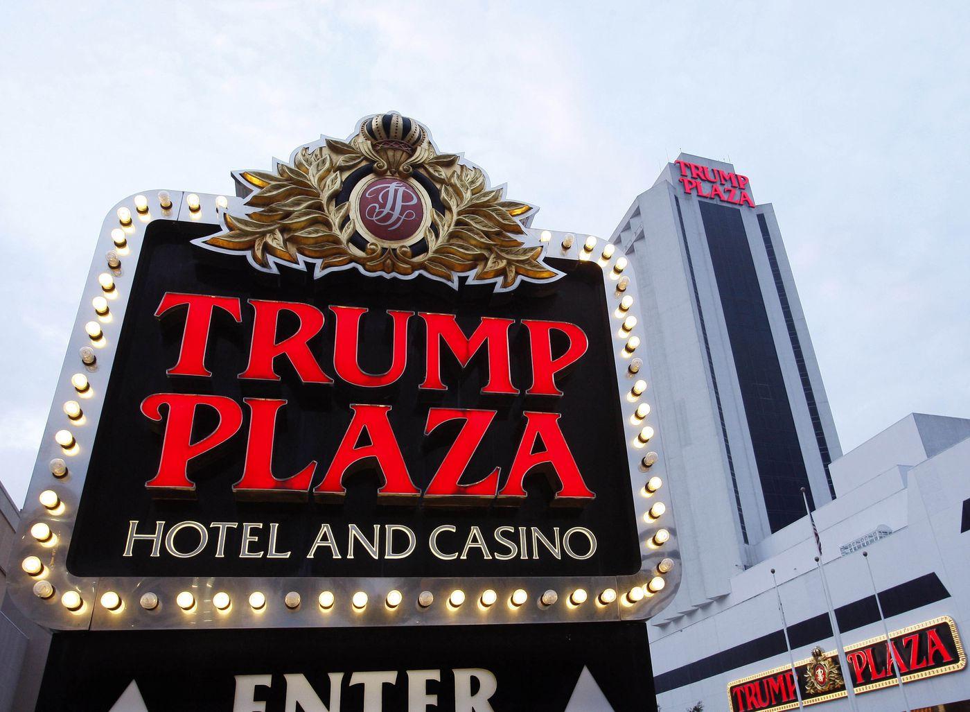 This 2010 file photo shows the Trump Plaza Hotel Casino in Atlantic City.