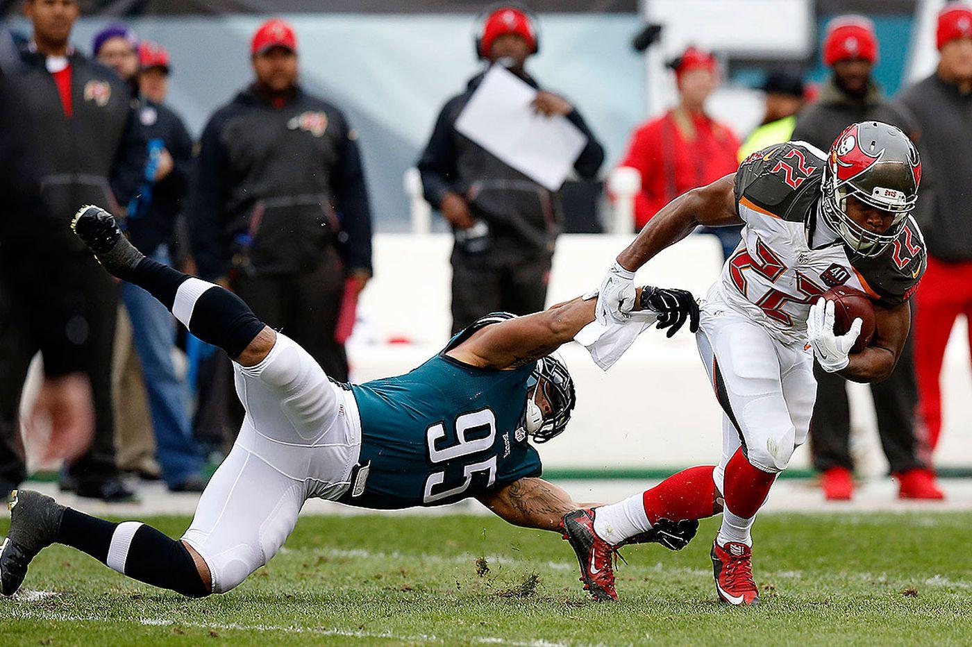 Kendricks, Eagles linebackers feeling the heat