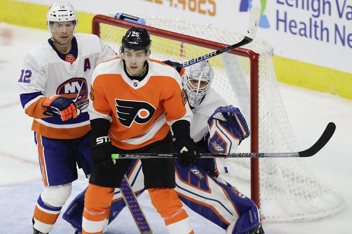 James van Riemsdyk almost ready to return to Flyers' lineup
