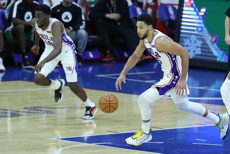 The Sixers have repeatedly stressed that Ben Simmons isn't going anywhere.