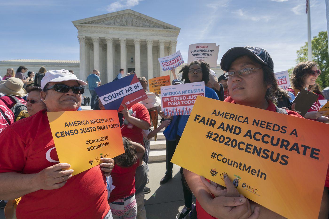 Supreme Court justices tilt in favor of census citizenship question
