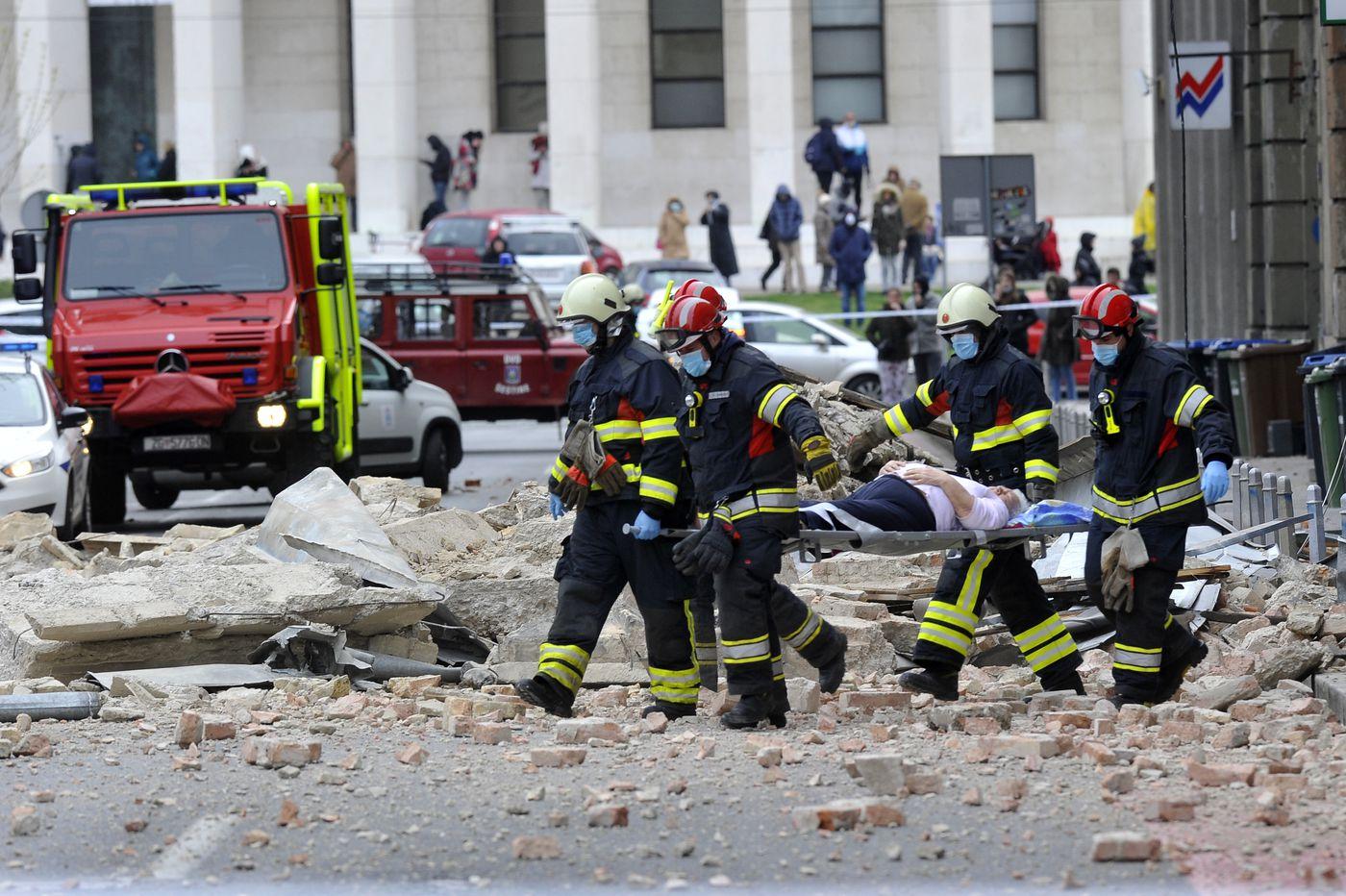 Earthquake in Croatia injures 17 amid partial coronavirus lockdown