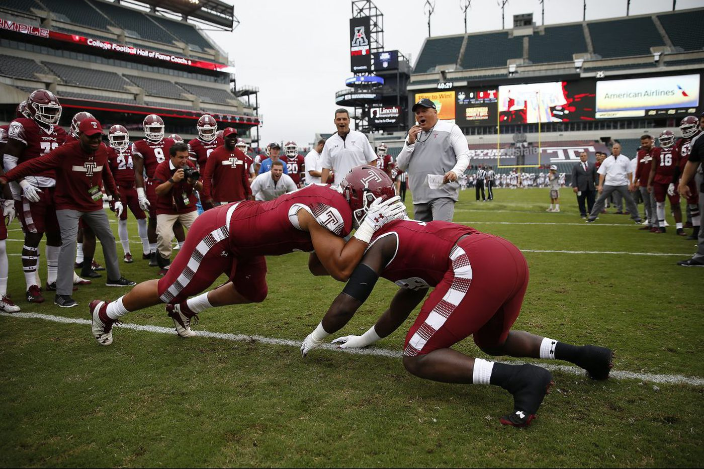 Temple's on-campus football stadium gaining momentum