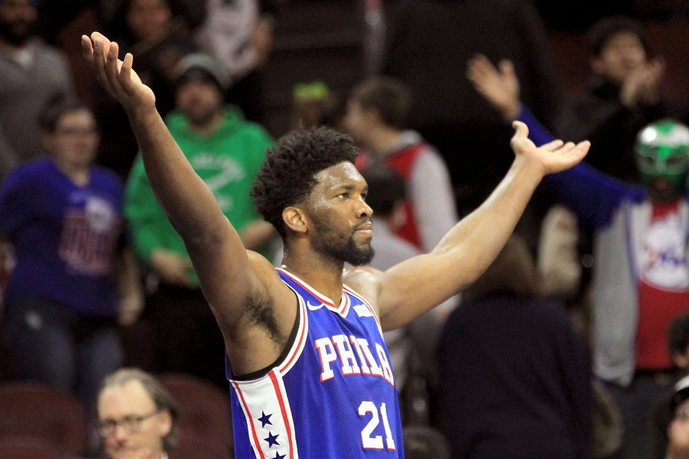 Sixers chat replay: Keith Pompey talks playoff push, Markelle Fultz and more