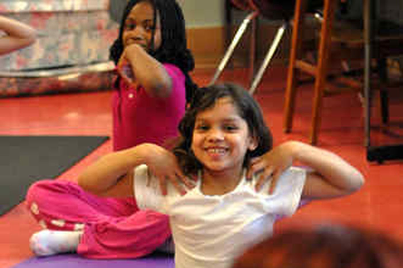 For fidgety crowd, yoga can be elementary