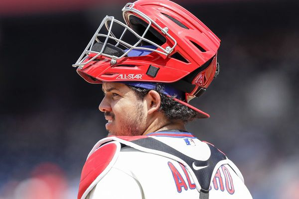 Phillies' Alfaro a catcher with a steep learning curve