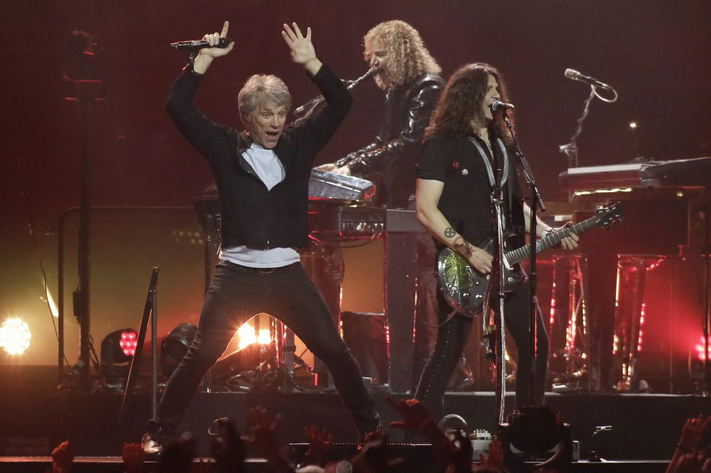 Bon Jovi celebrates WMMR's 50th birthday at the Wells Fargo Center
