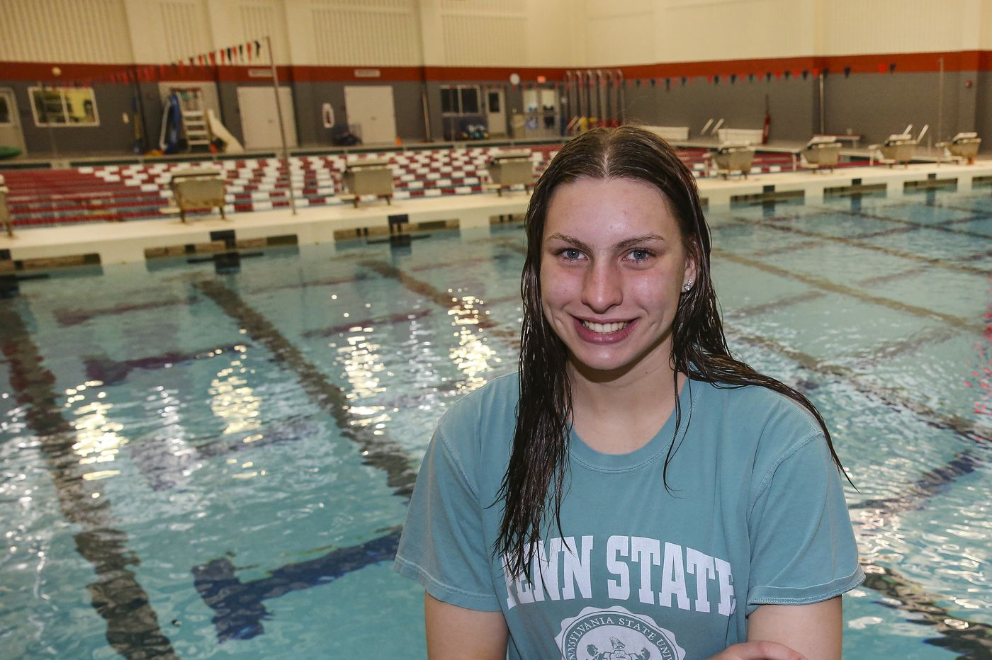 Upper Dublin swimmer Abbie Amdor went from nearly quitting to PIAA state champion
