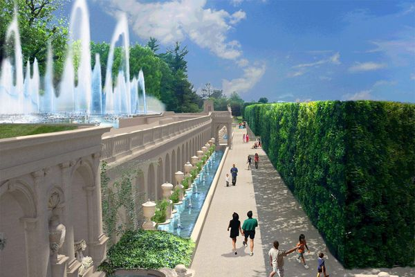 New fountains with flames coming to Longwood Gardens