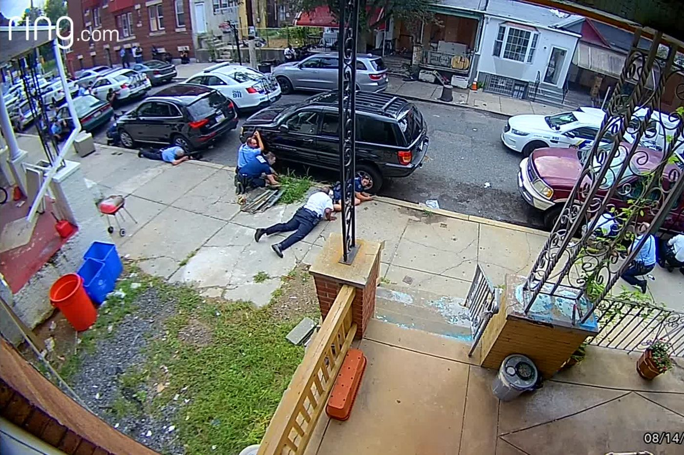 EXCLUSIVE VIDEO: From across the street, a clear view of Philadelphia police, gunman trading fire