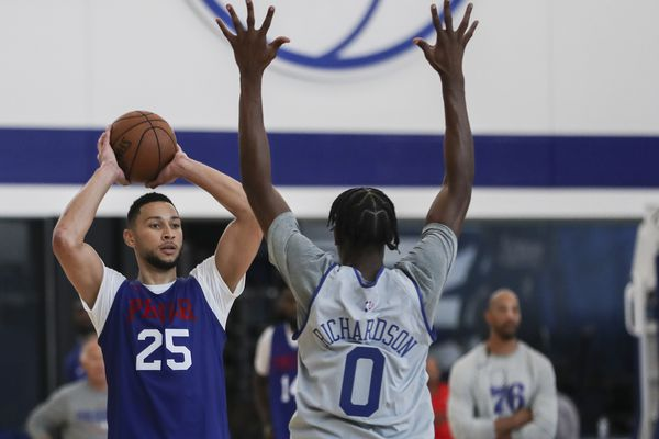 Sixers' Ben Simmons, Josh Richardson developing backcourt chemistry
