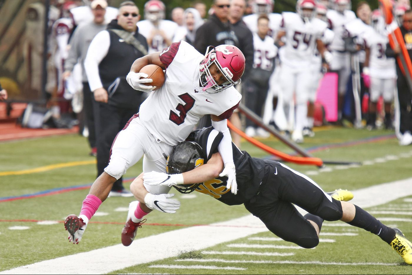 St. Joe's Prep rocks Archbishop Wood behind Marques Mason