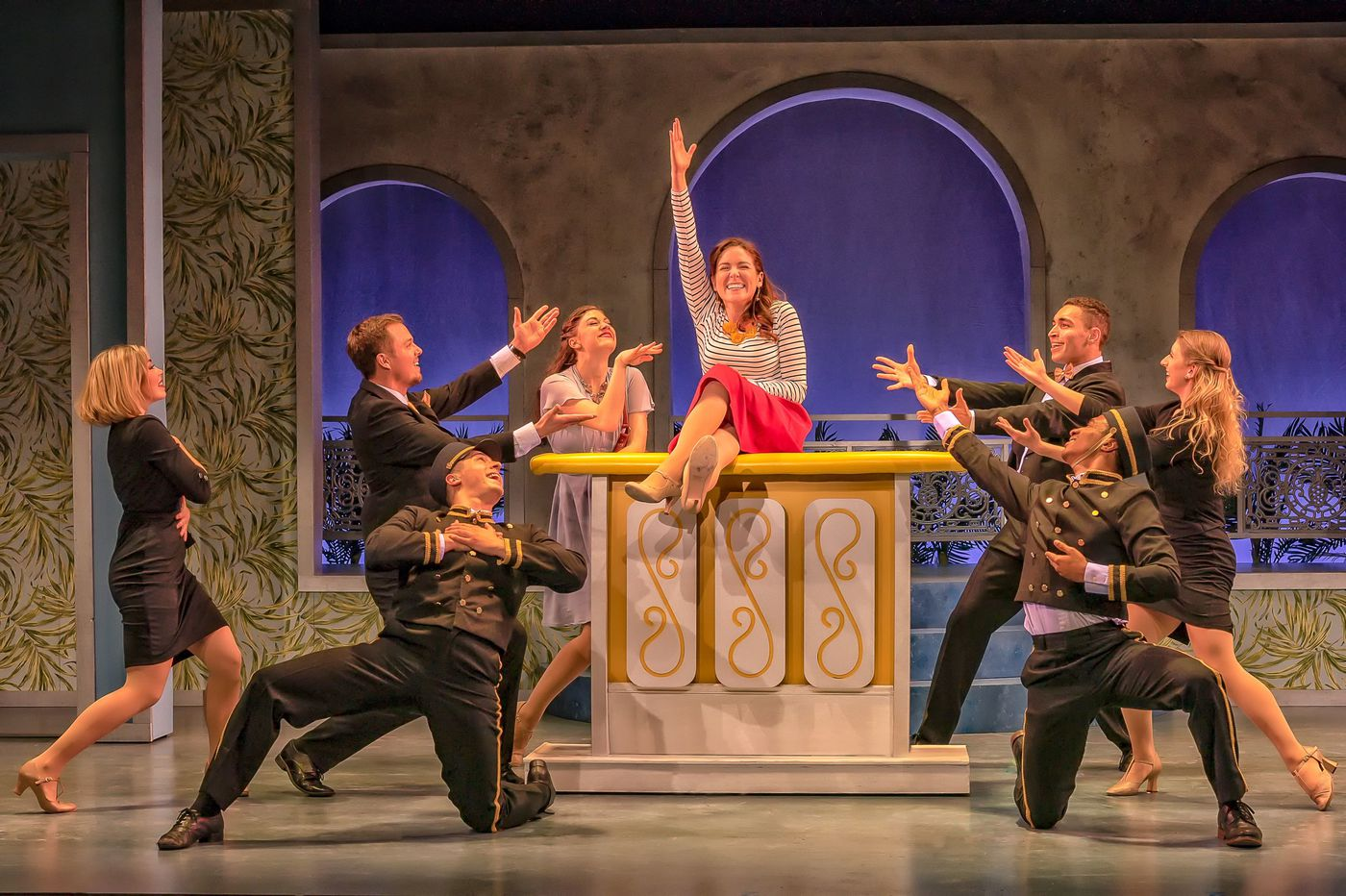'Dirty Rotten Scoundrels' at the Resident Theatre Company: Exuberant fantasy of cons and scammers