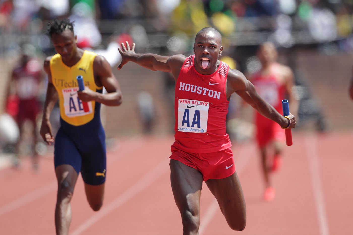 Mike Rodgers, Cameron Burrell and Raevyn Rogers lead USA vs. the World field at Penn Relays