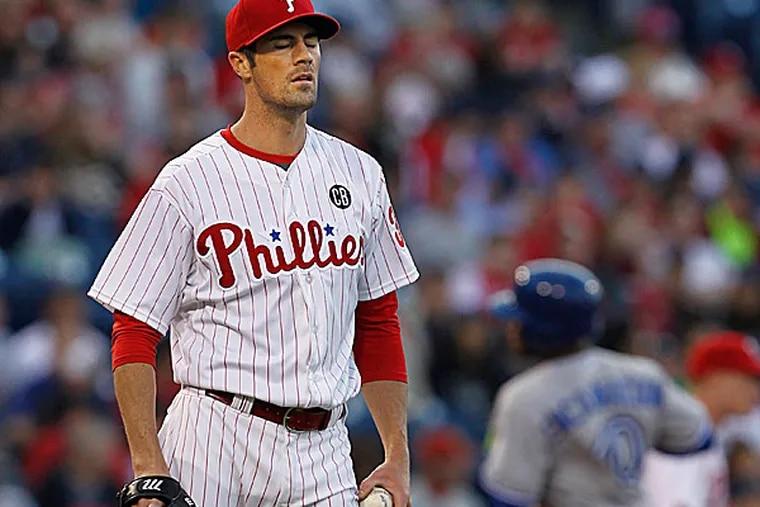 Phillies starting pitcher Cole Hamels. (Ron Cortes/Staff Photographer)