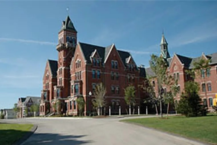 Danvers State Hospital in Massachusetts closed in 1992. Since then, it has been converted into apartments and condos.