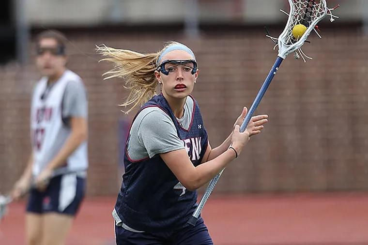 Penn's Meg Marhkam won Ivy League Defender of the Year honors. (Michael Bryant/Staff Photographer)
