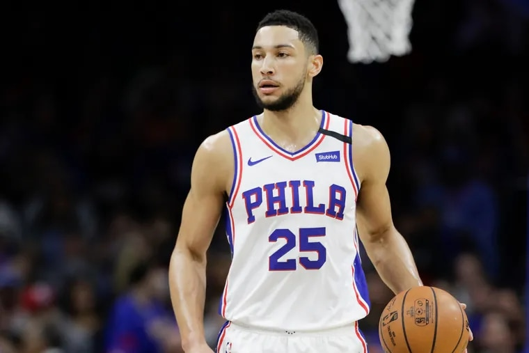 Ben Simmons can't be loving all the talk of being traded for James Harden.