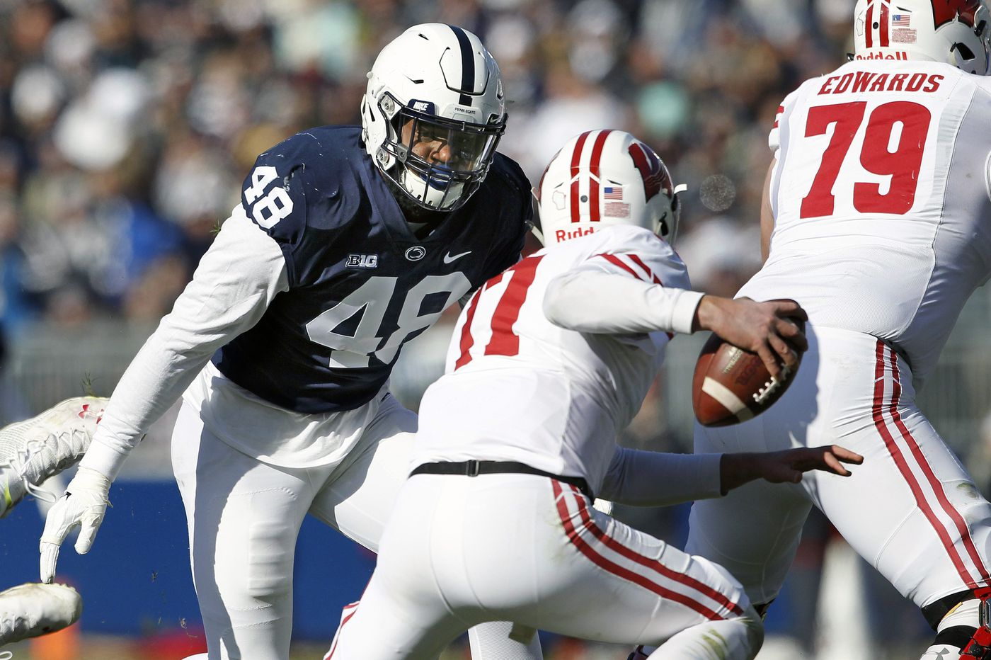 Penn State's Rob Windsor, a Wisconsin native, makes statement for Nittany Lions' defense
