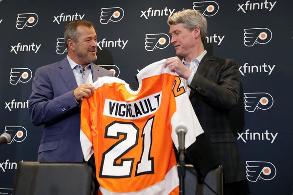 Chuck Fletcher makes case that new coach Alain Vigneault can quickly return Flyers to playoff contention | Sam Donnellon