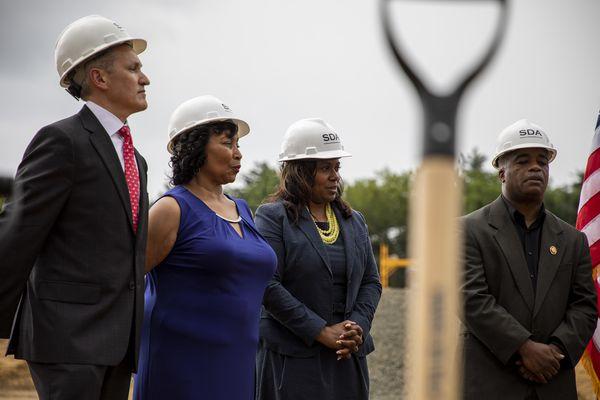 Construction now underway for new Camden High School, set to open in September 2021