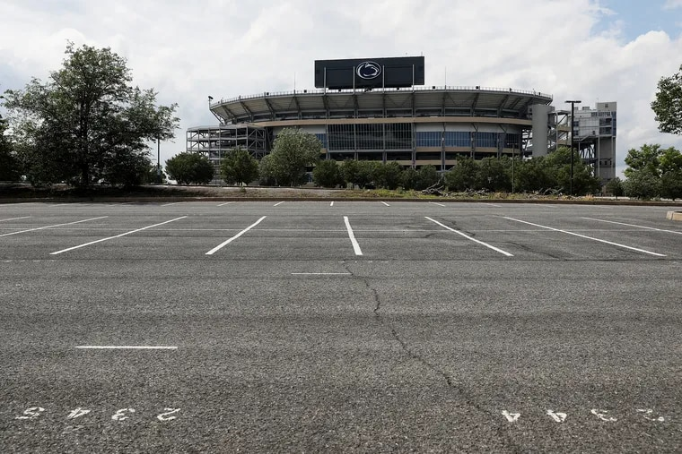 Penn State's famous Beaver Stadium was to host two games in September before the Big Ten season began. Not anymore.