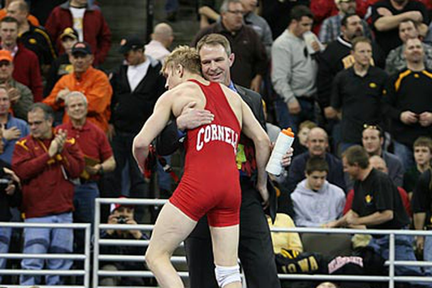 At Cornell, fund-raising just as important to wrestling as mat work